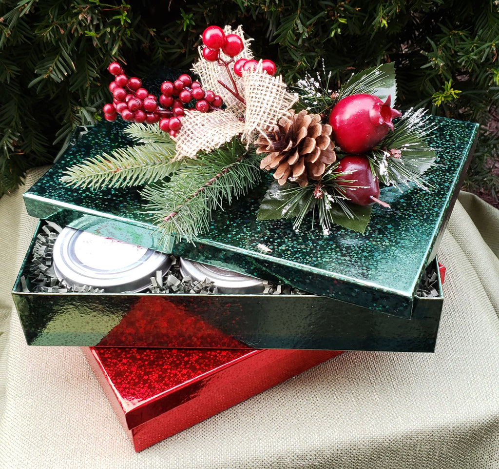 Red Holiday Gift Set