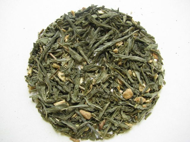 Decaffeinated Ginger Peach (Green)