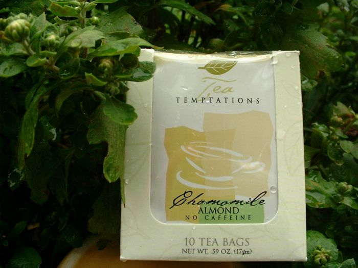 Tea Temptations - Chamomile with Almond (Herbal-No Caffeine)