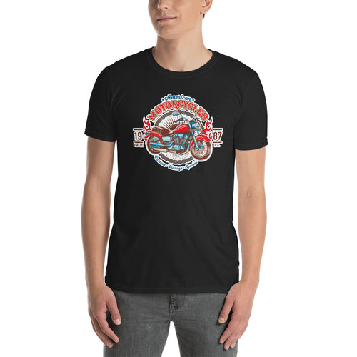 Vintage Motorcycle T Shirt Triumph California Custom Vintage Biker T Shirt for Men - FlorenceLand