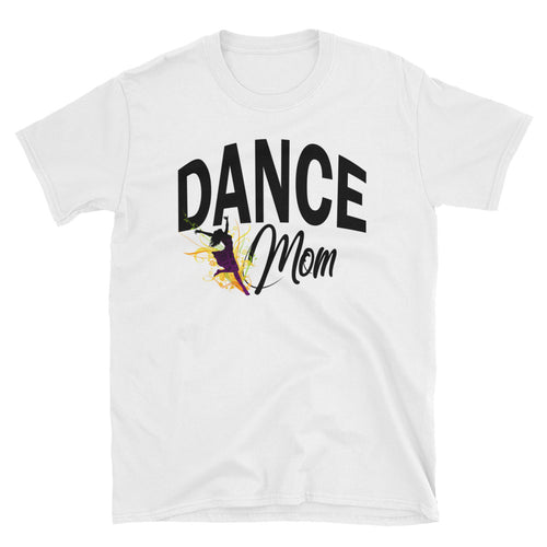 Dance Mom T Shirt White Unisex Dancing Hip Hop T Shirt Gift Idea - FlorenceLand