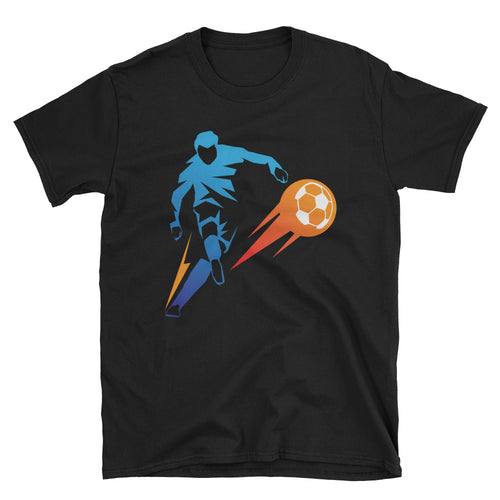 Football Striker T Shirt Soccer Striker Short-Sleeve T-Shirt Soccer T Shirt Design - FlorenceLand