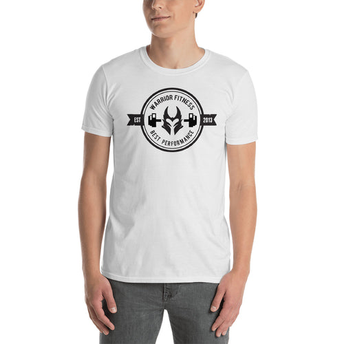 Buy Warrior Fitness Best Performance T-Shirt for Men in White
