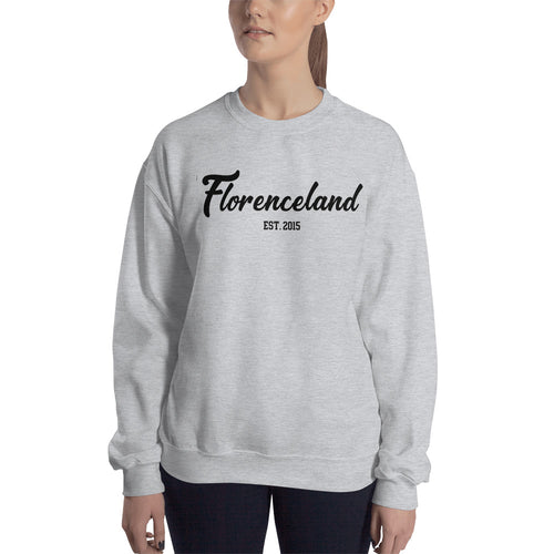 Florenceland Original Grey Sweatshirt for Women - FlorenceLand
