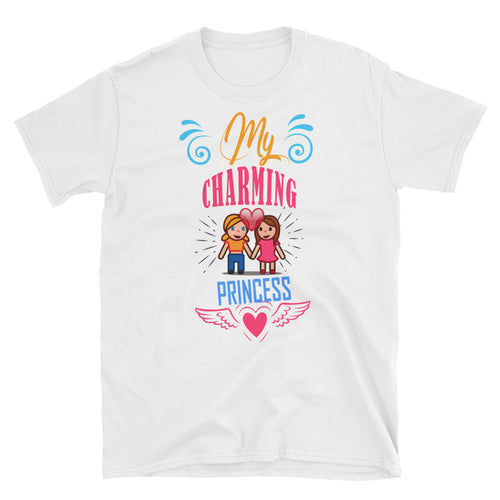 My Charming Princess T Shirt White Lesbian T Shirt Love T Shirt Unisex - FlorenceLand
