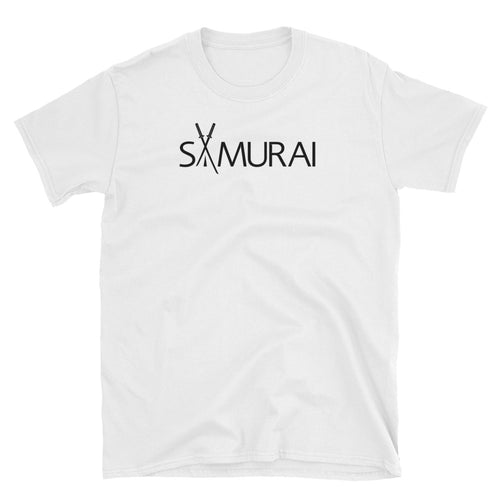 Samurai T Shirt Clean White Japanese Warrior Samurai T Shirt for Men - FlorenceLand