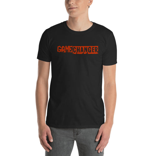 Game Changer T Shirt Black Positive Vibes T Shirt Be A Game Changer T Shirt for Men - FlorenceLand