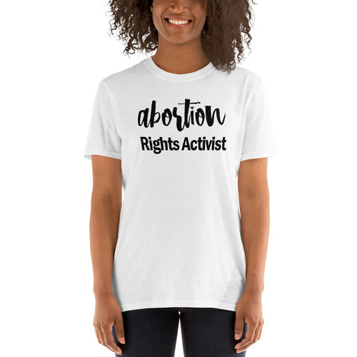 Buy Abortion Rights Activist  T-Shirt for Women in White