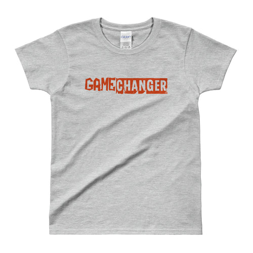 Game Changer T Shirt Grey Positive Vibes T Shirt Be A Game Changer T Shirt for Women - FlorenceLand
