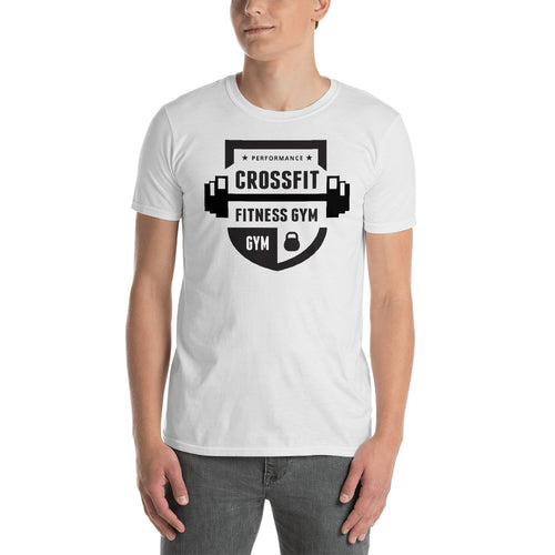 Buy Performance Cross fit Fitness Gym T-Shirt for Men in White