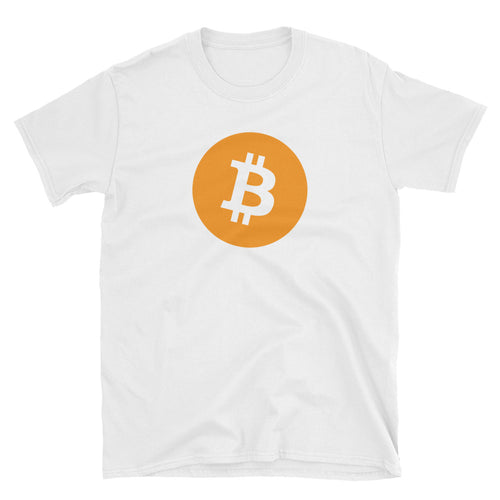 Bitcoin T Shirt White Cryptocurrency Bitcoin Tee Shirt Blockchain Digital Ledger T Shirt for Women - FlorenceLand