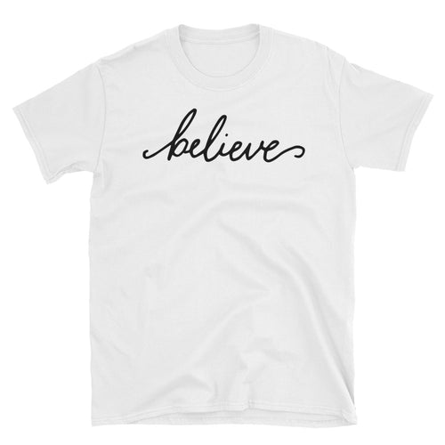 114d57a760 Believe T Shirt I want to Believe T Shirt White for Men - FlorenceLand