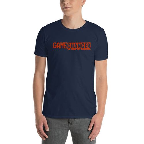 Game Changer T Shirt Navy Positive Vibes T Shirt Be A Game Changer T Shirt for Men - FlorenceLand
