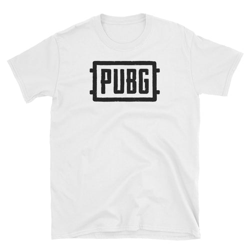 Players Unknown Battleground T Shirt White PUBG T Shirt for Gamer Girls - FlorenceLand