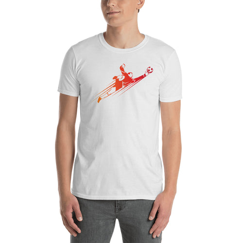 Soccer Goalkeeper T Shirt White Football Goli T Shirt - FlorenceLand