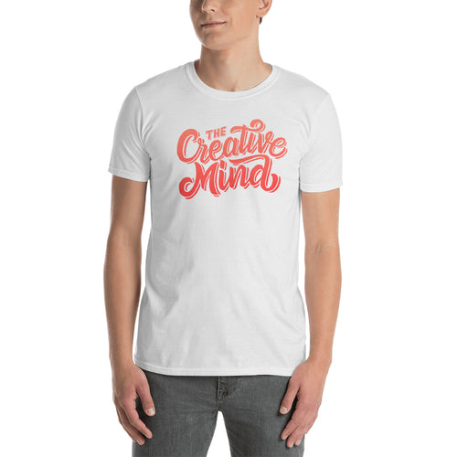The Creative Mind T Shirt White Creative Mind T Shirt for Men - FlorenceLand