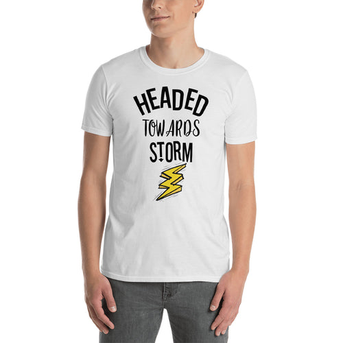 2fee2cd905d Headed Towards Storm T Shirt White Motivational Quote T-Shirt for Men -  FlorenceLand