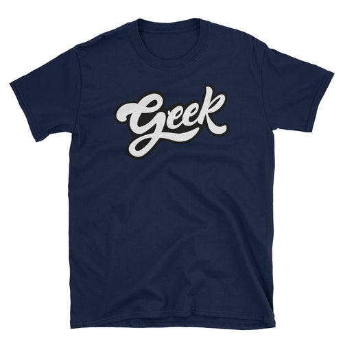 Geek T Shirts Nerd T Shirt Navy Blue Geek Nerd T Shirt for Men - FlorenceLand