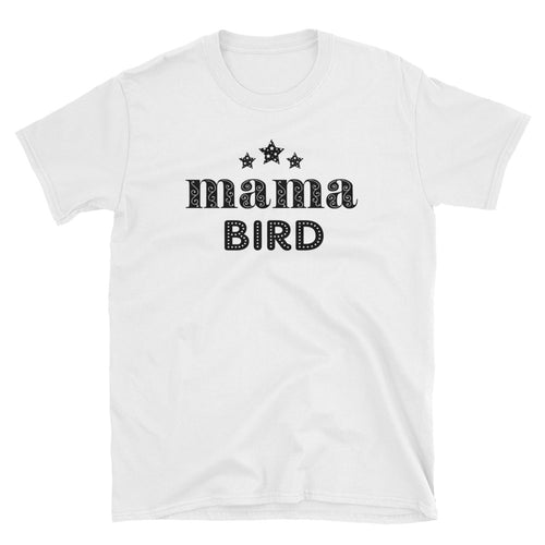 Mama Bird T Shirt White Mothers Day Mama Bird T Shirt Mom T Shirt - FlorenceLand