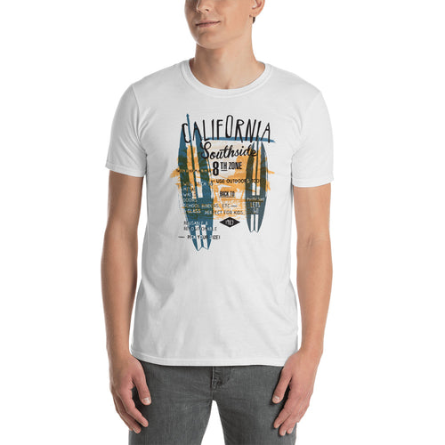 Buy California South side T-Shirt for Men in White