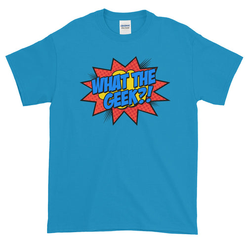 What The Geek T Shirts Blue What The Nerd T Shirt for Men - FlorenceLand