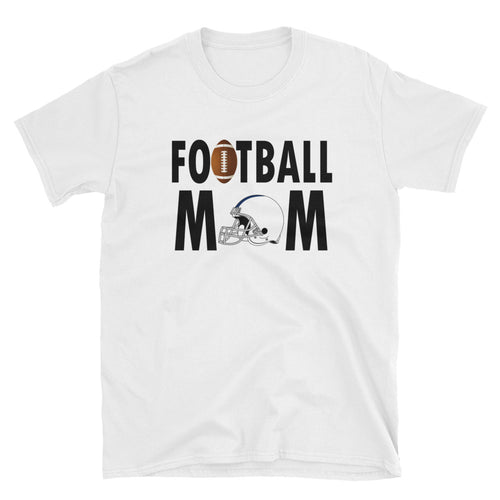 Football Mom T Shirt White Unisex Sporty Mother Gift T Shirt Football Mum T Shirt - FlorenceLand
