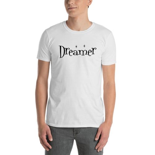 Dreamer T Shirt White Magical Dreamer T shirt for Men