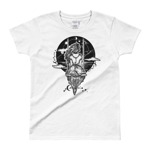 Descended From That Witch You Couldn't Burn T-Shirt White for Women - FlorenceLand