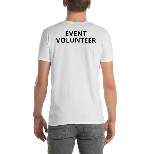 Event Volunteer T Shirt White Event Volunteer T Shirt for Men - FlorenceLand