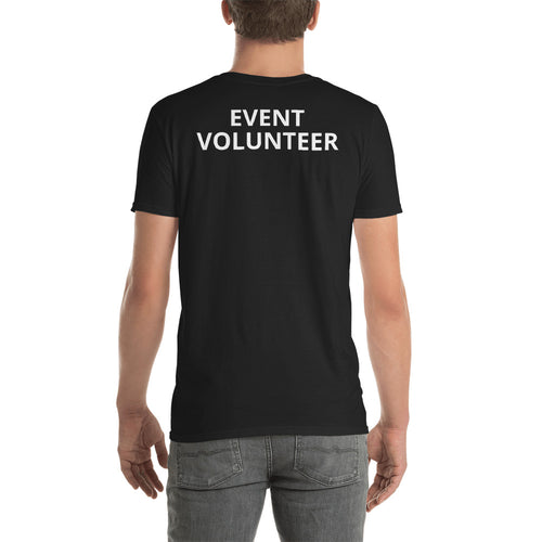 Event Volunteer T Shirt Black Event Volunteer T Shirt for Men - FlorenceLand