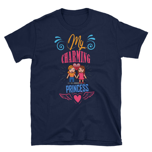 My Charming Princess T Shirt Navy Lesbian T Shirt Love T Shirt Unisex - FlorenceLand
