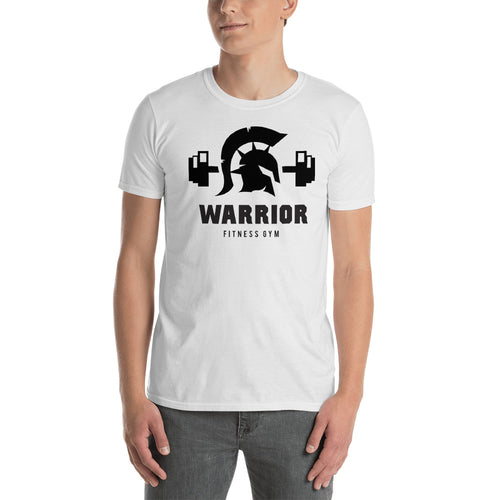 Buy Wrrior  Fitness Gym T-Shirt for Men in White