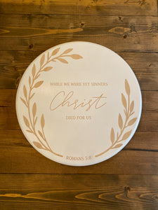 Romans Scripture Lazy Susan