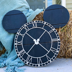 Farmhouse Mini Mouse Clock - Preorder
