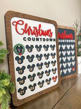 Load image into Gallery viewer, Christmas Countdown Sign