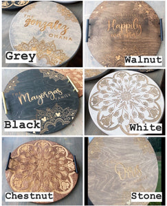 Custom Engraved Tray - PREORDER