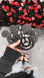 Black Pumpkin Coasters - Preorder