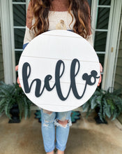 Load image into Gallery viewer, Classic Hello Mouse Sign - PREORDER