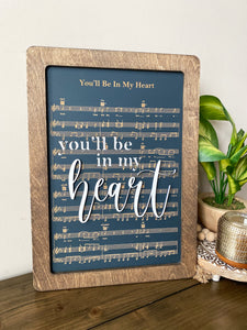 Be in my heart - Magical Playlist Sign