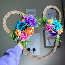 Load image into Gallery viewer, Custom Floral Mouse Sign - Preorder
