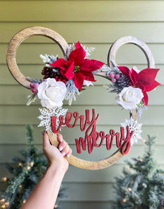 Holiday Mouse Sign