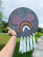 Load image into Gallery viewer, Custom Rainbow Mouse Sign - PREORDER