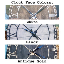 "Load image into Gallery viewer, 30"" FarmMouse ROUND Clock - Preorder"