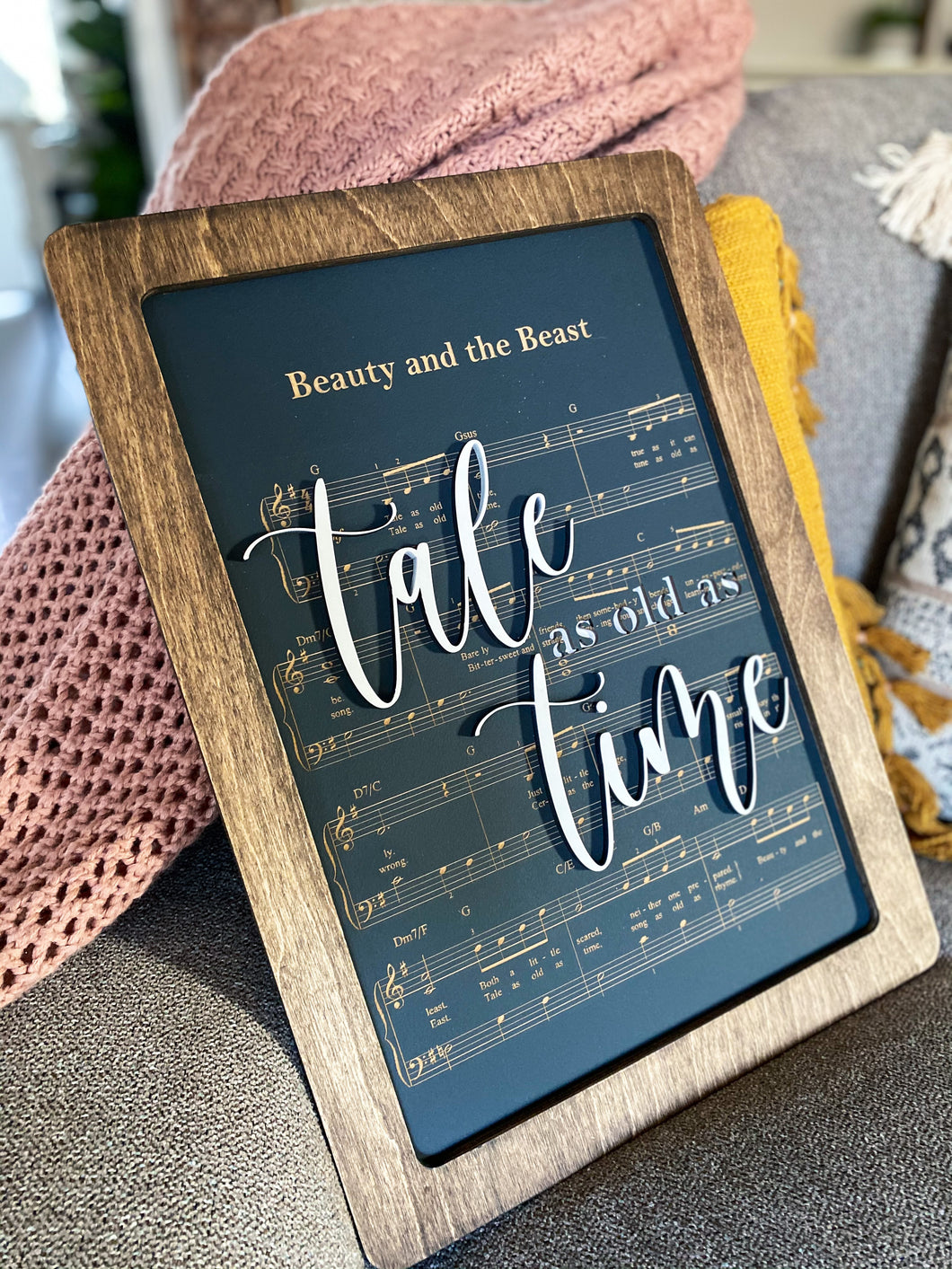 Beauty and the Beast - Magical Playlist Sign