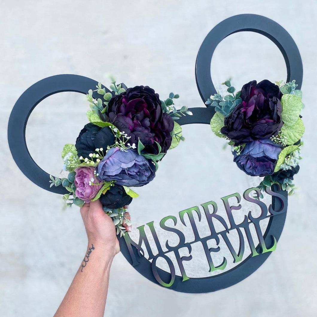 Custom Floral Mouse Sign - Preorder
