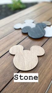 Solid Natural Mouse Coaster