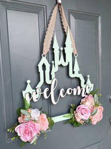 Custom Castle Door Hanger