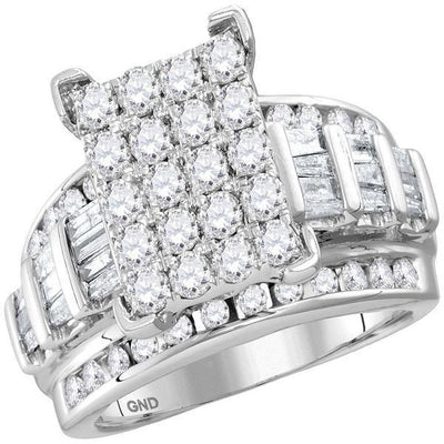 Gold & Diamond Engagement & Anniversary Rings-JadeMoghul Inc.