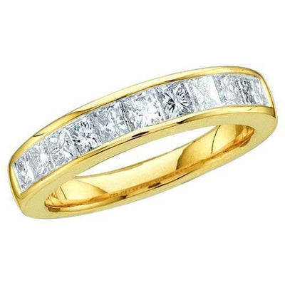 Gold & Diamond Bands-JadeMoghul Inc.