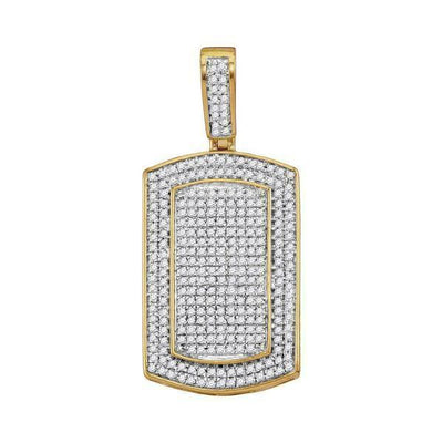 Gold & Diamond Men Charms & Pendants-JadeMoghul Inc.